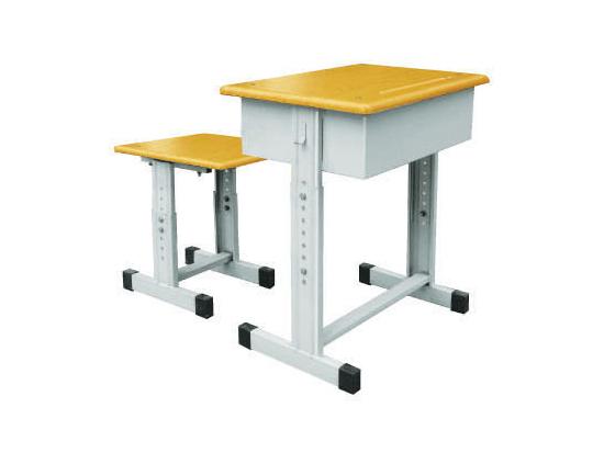 单人课桌凳-008