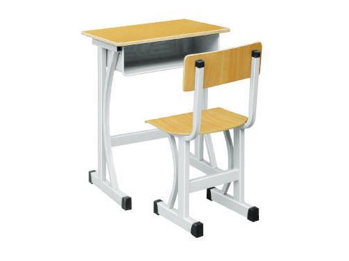 单人课桌椅-006