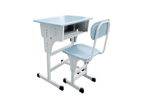 升降课桌椅-005